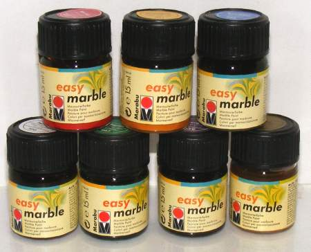 How To Use Marbling Paint From Germany