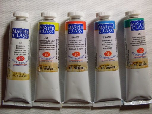 Master-Class Oil paints - Brands of Hobby, Art & Craft